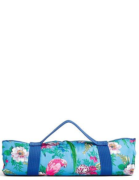 Frida Parrot Picnic Blanket | M&S