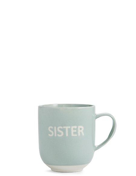 Sister Wax Resist Mug
