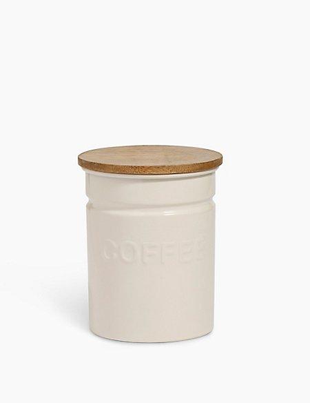 Worded Powder Coated Coffee Caddy