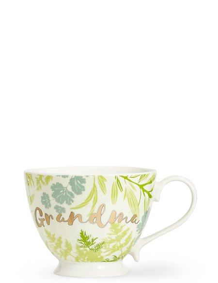 Grandma Footed Mug