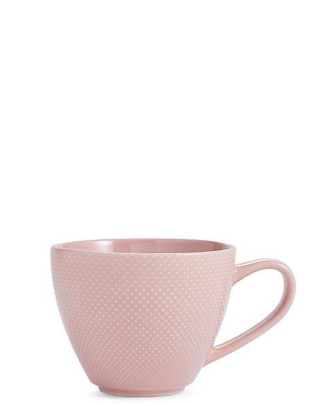 Textured Rose Mug