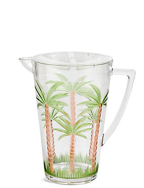 Palm Tree Picnic Jug