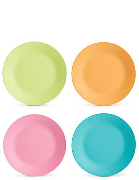 Set of 4 Picnic Plates