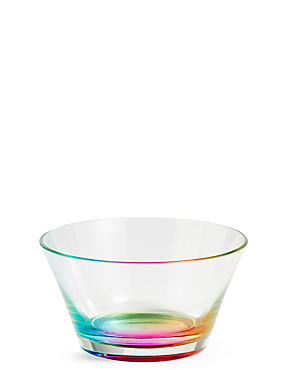 Rainbow Small Plastic Bowl