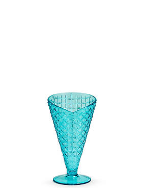 Plastic Ice Cream Sundae Cone