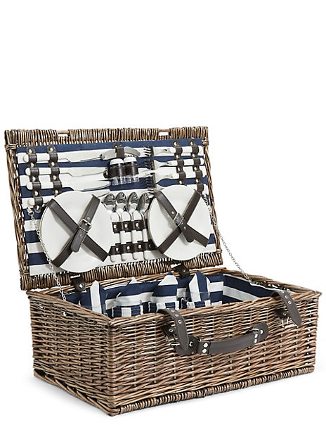 4 Person Rectangular Hamper