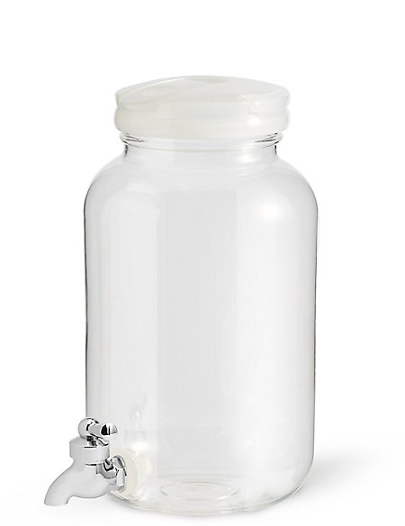 Clear Plastic Drinks Dispenser