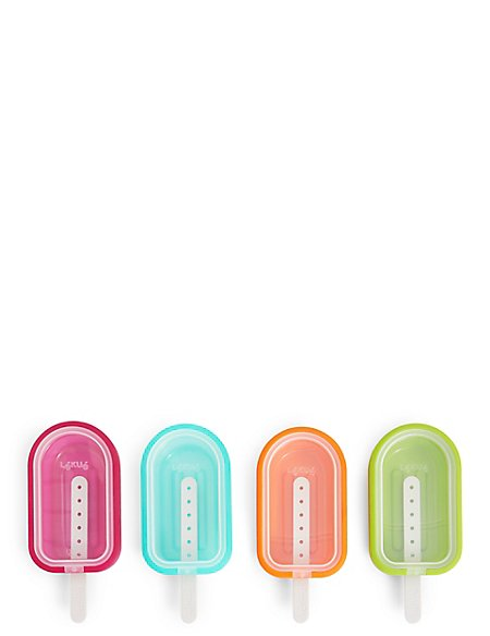 Stackable Set of 4 Ice Lolly Moulds