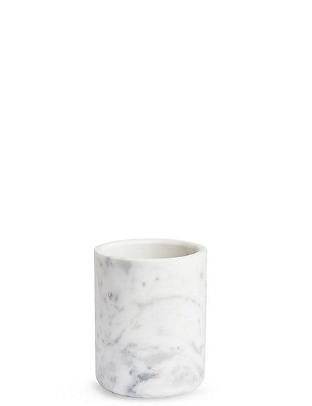 Chef Marble Utensil Pot