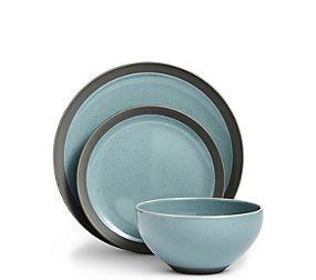12 Piece Bistro Blue Dining Set