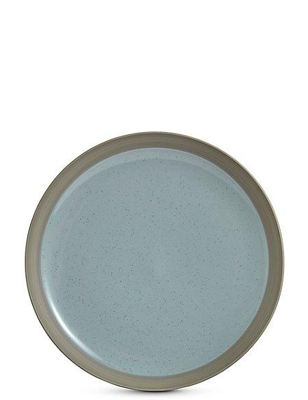 Bistro Blue Dinner Plate