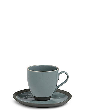 Bistro Blue Cup & Saucer