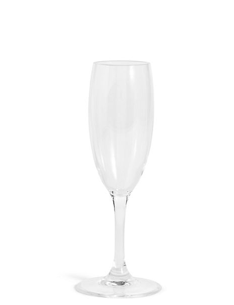 Clear Picnic Champagne Flute