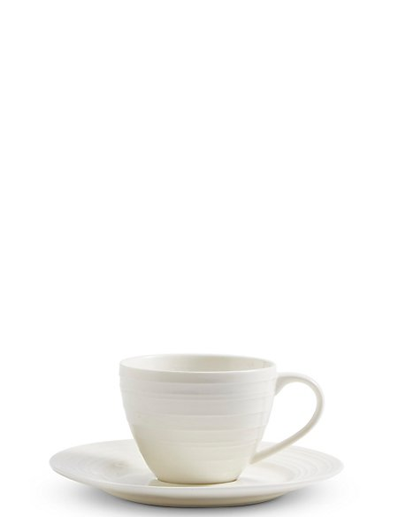 Metro Fine China Cup & Saucer