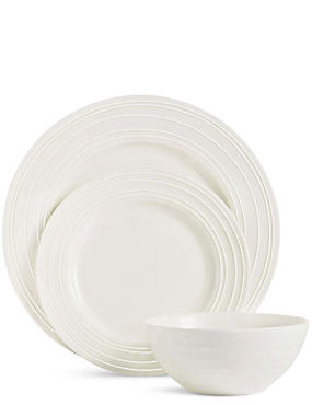12 Piece Metro Fine China Box Set  sc 1 st  Marks \u0026 Spencer & Dinner Sets | Dinner Plate Sets \u0026 China Dinner Sets | M\u0026S