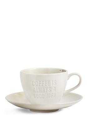 Slogan Latte Mug