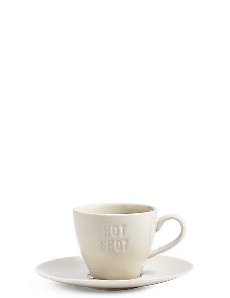 Slogan Espresso Mug