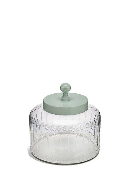 Vintage Glass Large Jar