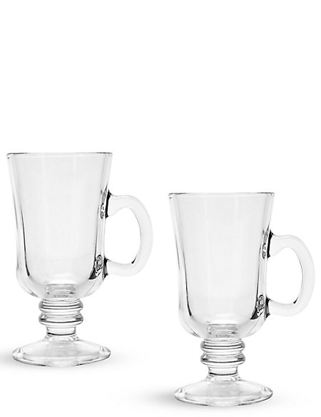 2 Irish Coffee Mug Set