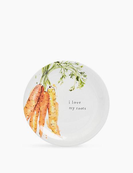 Carrot Side Plate