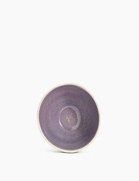 Stoneware Artisan Dots Bowl