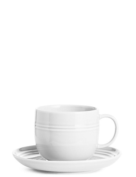 Marlowe Cup & Saucer