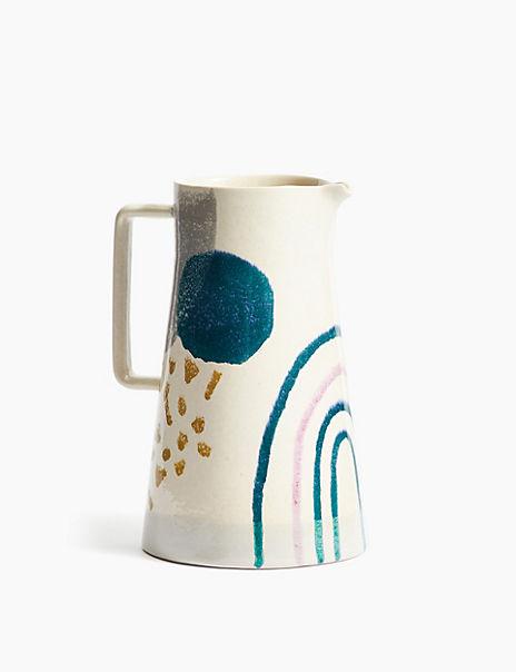 Stoneware Artisan Jug