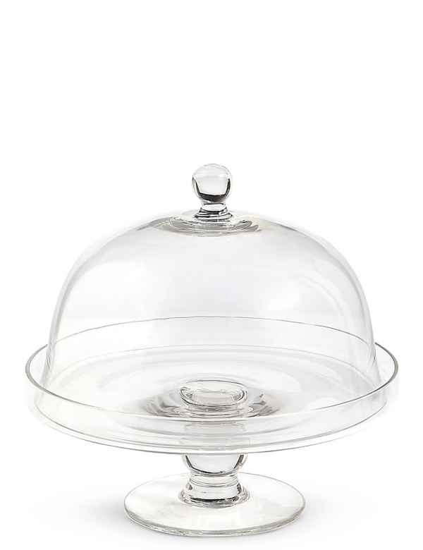 Cake Stands Plates Glass Tiered Cake Stands With Dome Ms