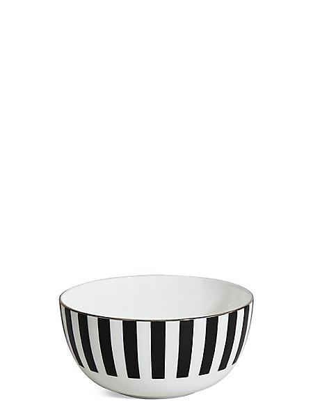 Sue Timney Stripe Cereal Bowl