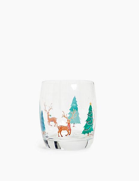 Festive Tumbler Glass