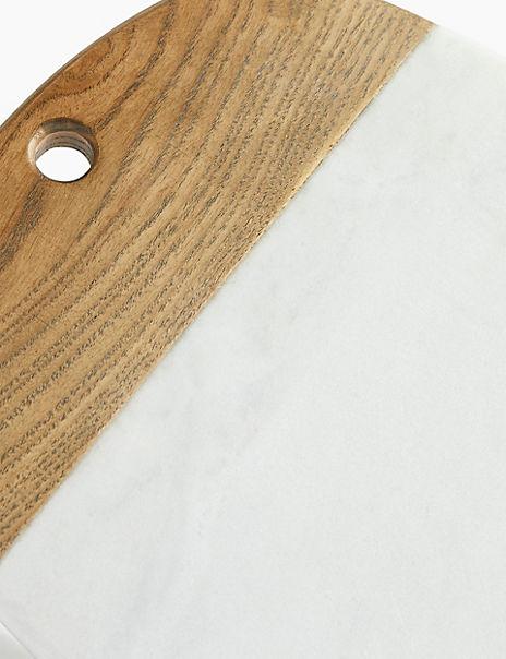 Ash Wood Oval Platter