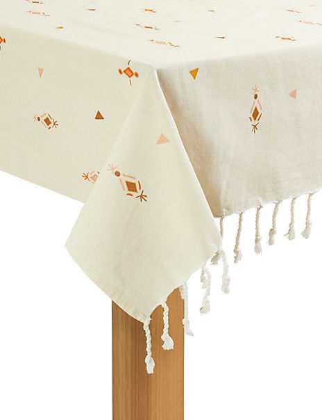 Aztec Tassel Tablecloth