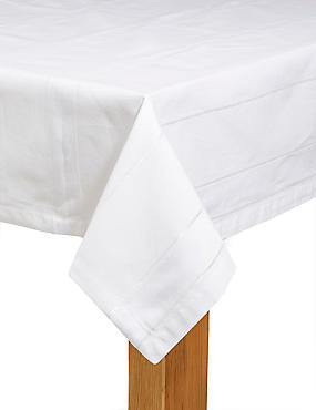 Metallic Stripe Tablecloth