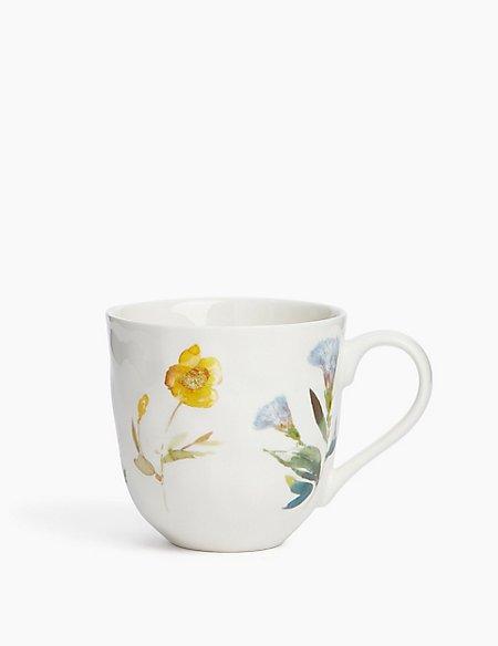 Watercolour Floral Mug