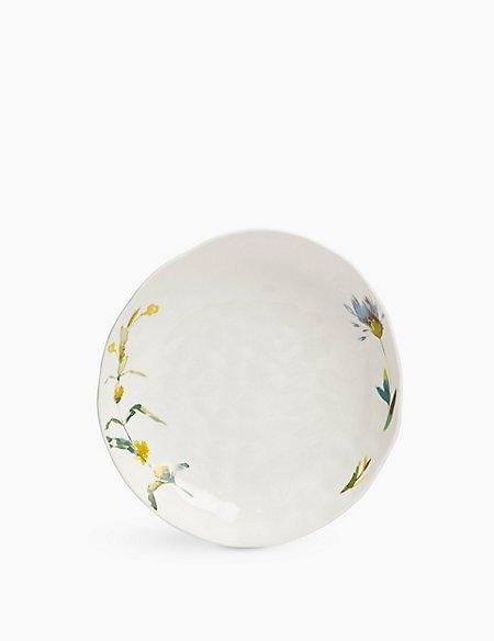 Watercolour Floral Pasta Bowl