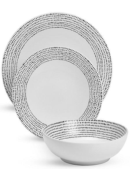 12 Piece Lombard Dinner Set