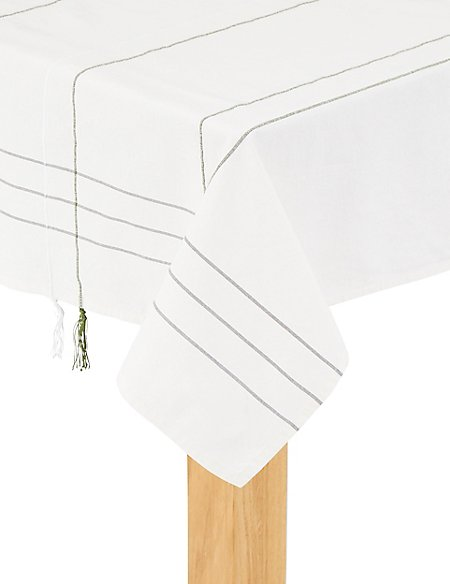 Tassel Trim Tablecloth