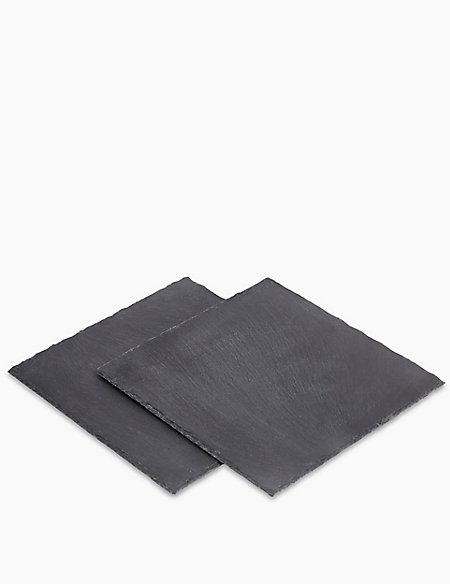 Slate Square Set Of 2 Placemats
