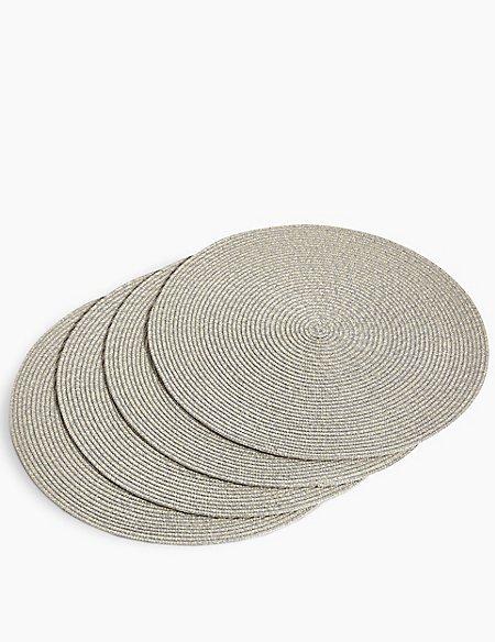 Round Woven Mats