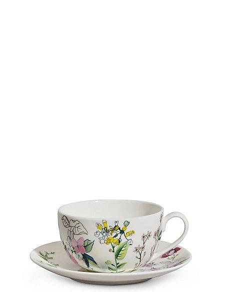 Spring Blooms Cup & Saucer Set