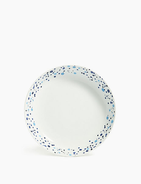 Porcelain Speckled Pasta Bowl Set