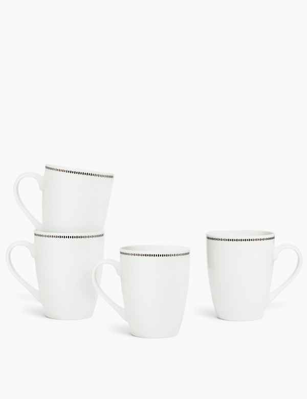 p60287747: 4 Pack Tally Mugs