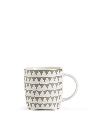 Triangle Print Mug