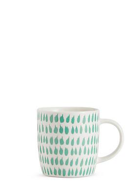 Droplet Print Mug