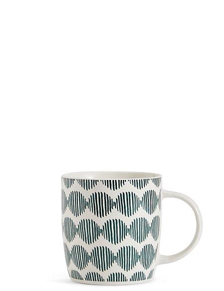 Helix Geo Print Mug