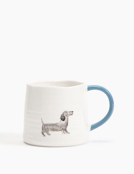 Fine China Dachshund Mug