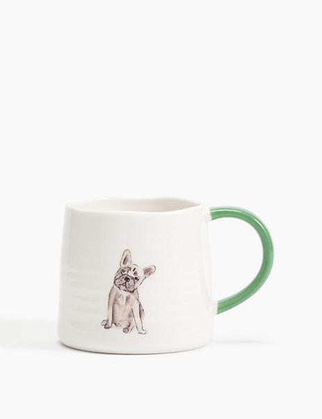 Fine China French Bulldog Mug