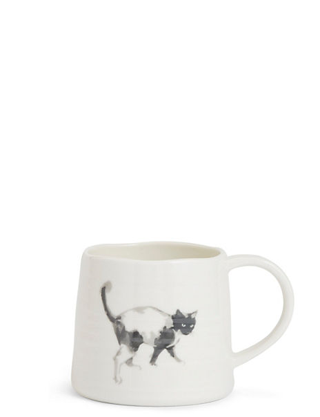 Watercolour Cat Print Mug