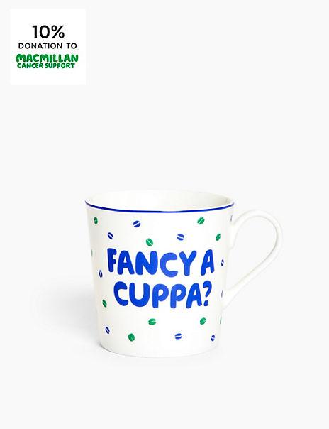 Macmillan Fancy a Cuppa Mug