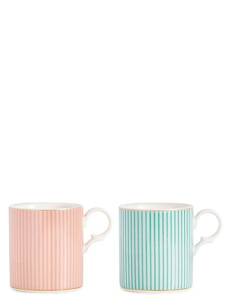 Set of 2 Charleston Mugs
